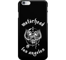 Motorhead (Los Angeles) 3 iPhone Case/Skin