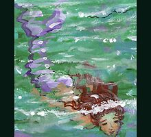 Mermaid Below the Surface 2 by shellrose