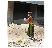 Builders Laborer Cybercity Hyderabad Poster