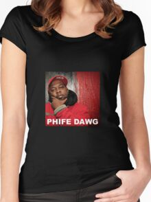 phife Women's Fitted Scoop T-Shirt