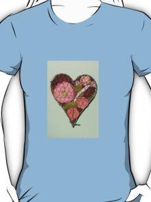 Heart Shaped Wall Decoration T-Shirt