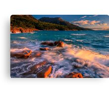 Sunset in Honeymoon Bay Canvas Print