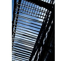 Fire Escape and Sky Photographic Print