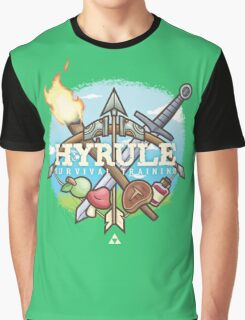 Hyrule Survival Training Graphic T-Shirt