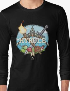 Hyrule Survival Training Long Sleeve T-Shirt