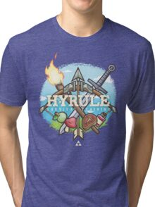Hyrule Survival Training Tri-blend T-Shirt