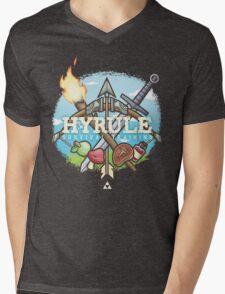 Hyrule Survival Training Mens V-Neck T-Shirt