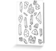 Gemstone - A Study - Pt II Greeting Card