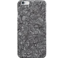 Black and White Doodle iPhone Case/Skin