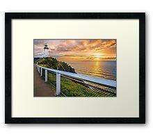 Sunrise at Cape Byron Framed Print