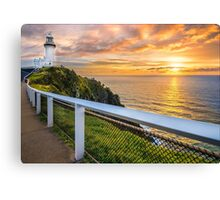 Sunrise at Cape Byron Canvas Print