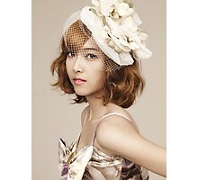 Jessica Jung SNSD Girls' Generation KPOP Photographic Print