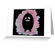 Krobus Greeting Card