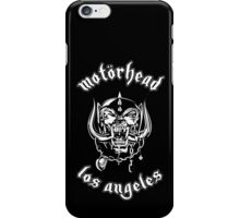 Motorhead (Los Angeles) 4 iPhone Case/Skin