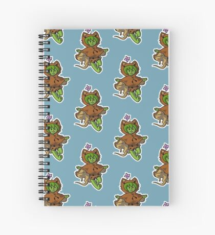 Teddy Spiral Notebook