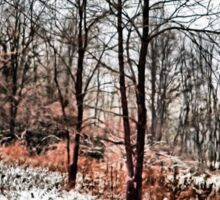 Winter in IR Sticker