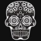MEXICAN SKULL T by PETER CULLEY