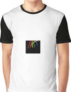 Oil-Brush Pride LGBTQ Graphic T-Shirt