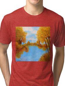 Autumn Reflections Tri-blend T-Shirt