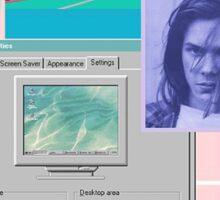 90s Aesthetic - River Phoenix  Sticker