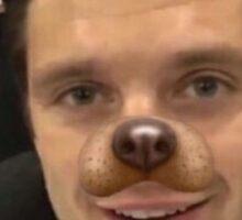 Puppy Seb Sticker