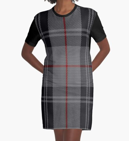 02913 Moffat Family/Clan Tartan  Graphic T-Shirt Dress