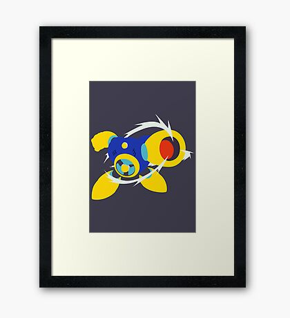 Air Man Framed Print