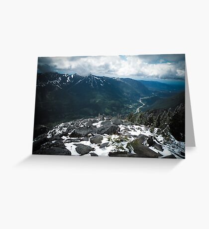 Bandera Mountain Greeting Card