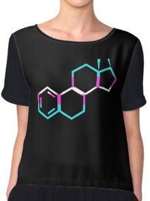 Trans Estrogen Chiffon Top