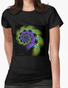 Rotating Sweetie Pie Womens Fitted T-Shirt