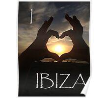 I Heart Ibiza Poster