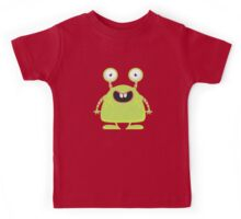 Cute Silly Monster Thing Kids Tee
