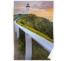 Cape Byron Lighthouse at Sunrise Poster