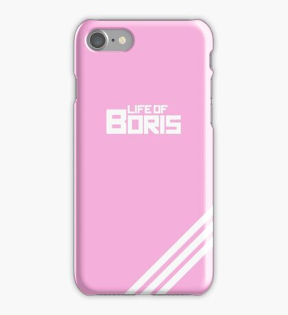 Three stripes in pink iPhone Case/Skin