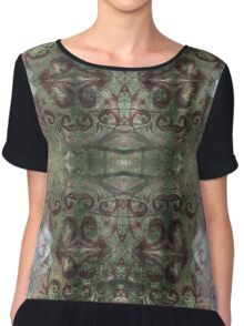 Baroque Forest - Version 4 Chiffon Top