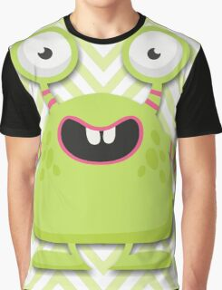 Cute Silly Monster Thing Graphic T-Shirt