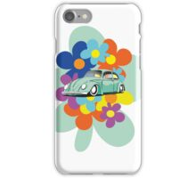 VW Beetle Flower Bug iPhone Case/Skin