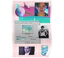 90s Leonardo Dicaprio Aesthetic  Poster