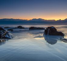 Cabarita Beach, NSW, Sunrise Reflections by Ann Pinnock