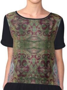 Baroque Forest - Version 3 Chiffon Top