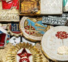 Russian medals Sticker
