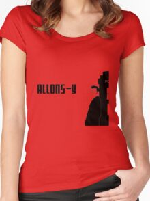 dr. who Women's Fitted Scoop T-Shirt