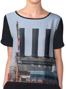 Baltimore Power Plant Chiffon Top