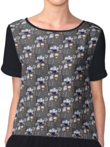 Tarot reading and tea Chiffon Top