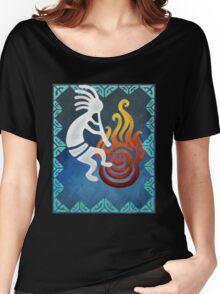 Kokopelli Blue Acrylic Set Women's Relaxed Fit T-Shirt