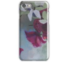 peonies and eucalyptus iPhone Case/Skin