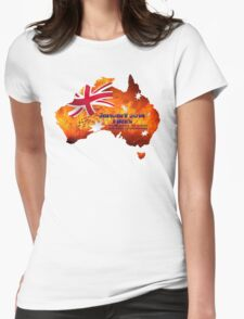 Nsw Bushfires Womens Fitted T-Shirt