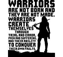 Female Warrior (Sword) Photographic Print