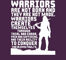 Female Warrior (Sword) Womens Fitted T-Shirt