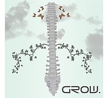 Spine Growth Photographic Print